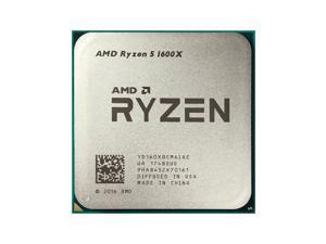 AMD Ryzen 5 1600X Processor (YD160XBCAEWOF) - CPU Only / No Cooler