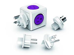 PowerCube 1910/USRU4P Power Cube Accessory 4-Outlet Rewirable Plug With 2 Usb Ports