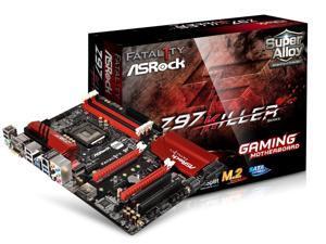 ASRock Fatal1ty Z97 Killer LGA 1150 Intel Z97 ATX Motherboard DDR3