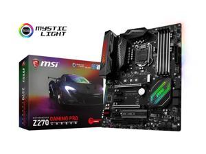 MSI Performance Gaming Intel Z270 DDR4 HDMI USB 3 SLI ATX Motherboard