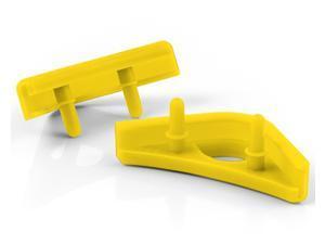 Noctua NA-SAVP1 chromax.yellow, Anti-Vibration Pads for 120/140mm Noctua Fans (16-pack, Yellow)