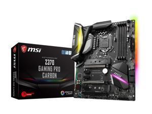 MSI Z370 GAMING PRO CARBON LGA 1151 (300 Series) Intel HDMI SATA 6Gb/s USB 3.1 ATX Motherboard