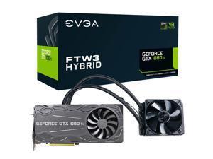 EVGA GeForce GTX 1080 Ti FTW3 HYBRID GAMING, 11GB GDDR5X, HYBRID & RGB LED Graphics Card 11G-P4-6698-KR