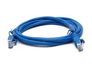Pick Length /& Color BattleBorn Cat5e RJ45 Ethernet Network Cable Cord 100-Pack 7 Foot , Blue