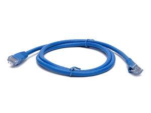 Blue BattleBorn 100 Pack 3 Foot Copper CAT6a Ethernet Network Patch Cable 24AWG 550MHz BB-C6AMB-3BLU
