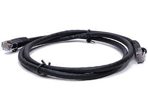 BattleBorn 3ft Cat6a UTP RJ45 Ethernet Network Cable (BLACK)