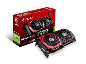 MSI Gaming GeForce GTX 1070 8GB GDDR5 SLI DirectX 12 (GTX 1070 GAMING X 8G)