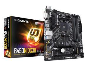 GIGABYTE B450M DS3H AM4 AMD SATA 6Gb/s USB 3.1 HDMI Micro ATX AMD Motherboard
