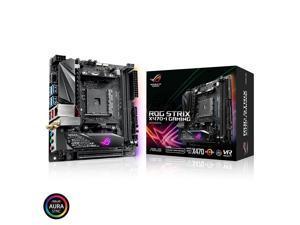 ASUS ROG Strix X470-I Gaming AMD Ryzen 2 AM4 DDR4 HDMI M.2 mini-ITX Motherboard with 802.11ac Wi-Fi