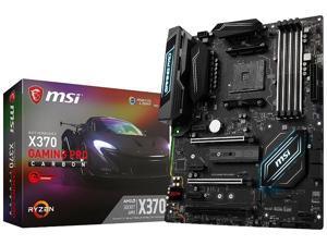 MSI X370 GAMING PRO CARBON Amd Ryzen X370 Ddr4 Hdmi Usb 3 Atx Gaming Motherboard