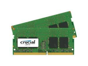 Crucial - DDR4 - 8 GB: 2 x 4 GB - SO-DIMM 260-pin - 2400 MHz / PC4-19200 - CL17 - 1.2 V - unbuffered - non-ECC