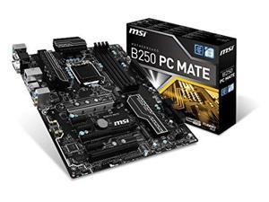 MSI Pro Series Intel B250 LGA 1151 DDR4 HDMI USB 3.1 ATX (B250 PC MATE)