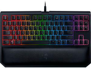 razer  blackwidow chroma v2 tournament edition usb gaming keyboard  black