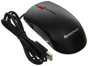 Genuine 45J4889 M-U0025-O Lenovo USB 2-Button Black Red Scroll Wheel Computer PC Optical Mouse Compatible Part Numbers: 45J4888, 25011476, 45J4889, M-U0025-O