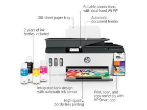 HP Inc. Wireless Color Inkjet All-in-One Printer and Fax 7XV38A#B1H