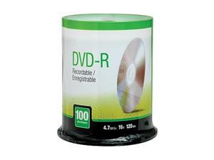 MyOfficeInnovations 4.7GB 16X DVD-R Spindle 100/Pack (12735) 622853