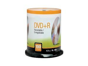 MyOfficeInnovations 4.7GB 16X DVD+R Spindle 100/Pack (12734) 622850