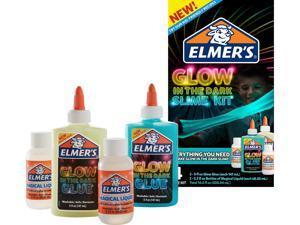 Elmer's Glow-in-the-Dark Slime Kit, Assorted Colors 2062242