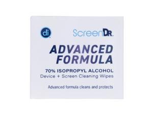 Digital Innovations Screen Dr Advanced Formula Wet Wipes White DGI32348