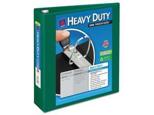 "Avery Heavy-Duty View Binder w/Locking 1-Touch EZD Rings 2"" Cap Green 79683"