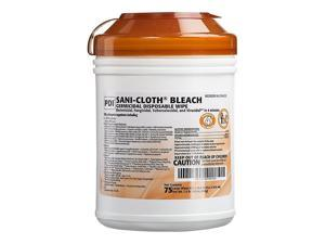 PDI Sani-Cloth Bleach Disinfecting Wipes, 75/Pack P54072
