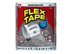 "Flex Seal General Purpose Repair Tape, 4"" x 1.67 Yds., Clear (TFSCLRR0405)"