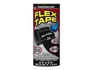 "Flex Seal General Purpose Repair Tape, 8"" x 1.67 Yds., Black (TFSBLKR0805)"