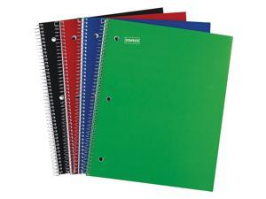 """Staples 1 Subject Notebook 8-1/2"""" x 11"""" 48 pack 2072477"""