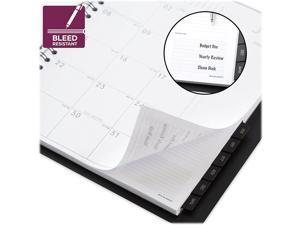 """AT-A-GLANCE 2022 9"""" x 11"""" Planner Contemporary Black 70-260X-05-22"""