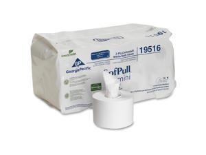 GEORGIA-PACIFIC 19516 SofPull® Centerpull Toilet Paper, 2 Ply, 500 Sheets, PK16