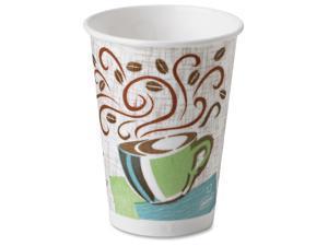 Dixie 5342CDSBPCT PerfecTouch Coffee Haze Hot Cups, 12 fl oz - 1 Carton (960 Cups)