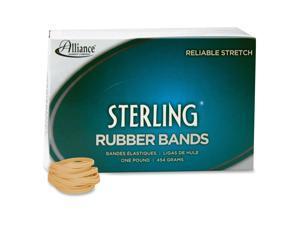 Alliance Natural Crepe Sterling Rubber Bands