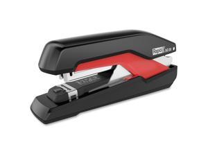 Rapid Supreme Omnipress SO30 Full Strip Stapler 30-Sheet Capacity Black/Red
