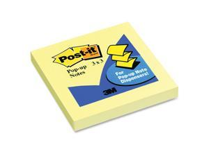 3M Post-it Notes Yellow Original Pop-up Refills 1200/PK