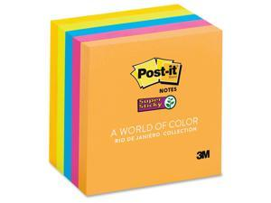 3M Post-it Super 3x3 Jewel Pop Sticky Notes