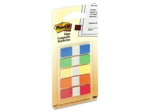 "3M Post-it 1/2"" Assorted Portable Flags"