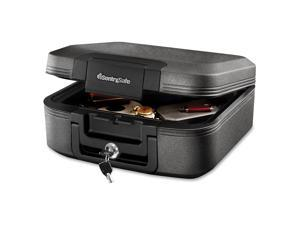 SentrySafe - CFW20201 - 15-2/5 x 14 1/3 in x 6-3/5 Fire Safe, Gray; Holds Paper, Valuables, USB Drives, CD's, DVD's and