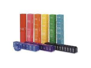 Learning Res. Fraction Tower Cubes Set