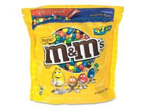 M & M's Milk Chocolate Coated Candy w/Peanut Center 42oz Pack 32437