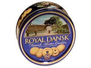 Royal Dansk Danish Butter Cookies Reusable Tin 12 oz 40635