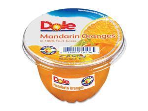 Dole Food Company, Inc Fruit Cups 7 oz. 12/CT Mandarin Oranges 74206011