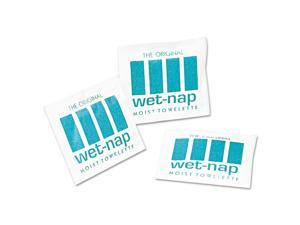 Sani Professional Wet-Nap Premoistened Towelettes 5 x 7 3/4 White 100/Pack 10
