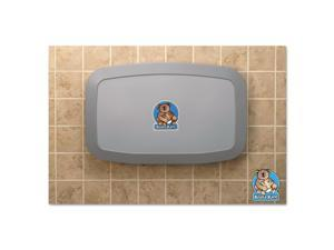 Horizontal Baby Changing Station, 35 x 22, Gray KB200-01