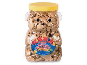 Animal Crackers Bear Jug Reusable Container 24oz.