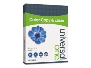 Universal Copier/Laser Paper 98 Brightness 28lb 8-1/2 x 11 White 500 Sheets/Ream