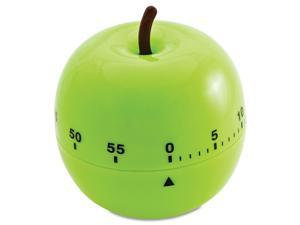 "Shaped Timer, 4 1/2"" Dia., Green Apple"