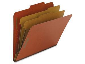 "Nature Saver Classification Folders 2"" Exp. Letter 2 Div 10/BX Red 01051"