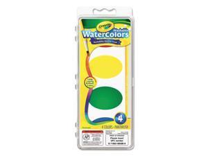 Crayola. 530500 So Big Washable Watercolor Set, 4 Assorted Colors