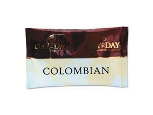 Day To Day Coffee 100% Pure Coffee Colombian Blend 1.5 oz Pack 42 Packs/Carton