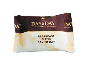 Day To Day Coffee 100% Pure Coffee Breakfast Blend 1.5 oz Pack 42 Packs/Carton